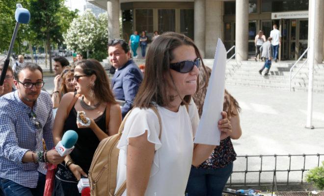 López de los Mozos, en los Juzgados de Plaza de Castilla, el pasado junio.
