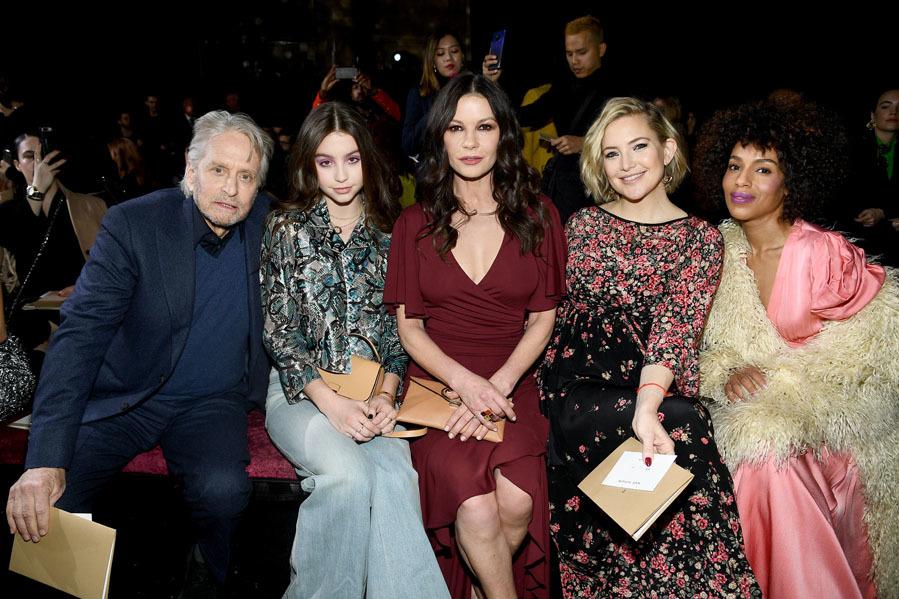 El front row irradiaba glamour - El show de Michael Kors en NY