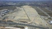 Vista aérea de la zona de los Berrocales.