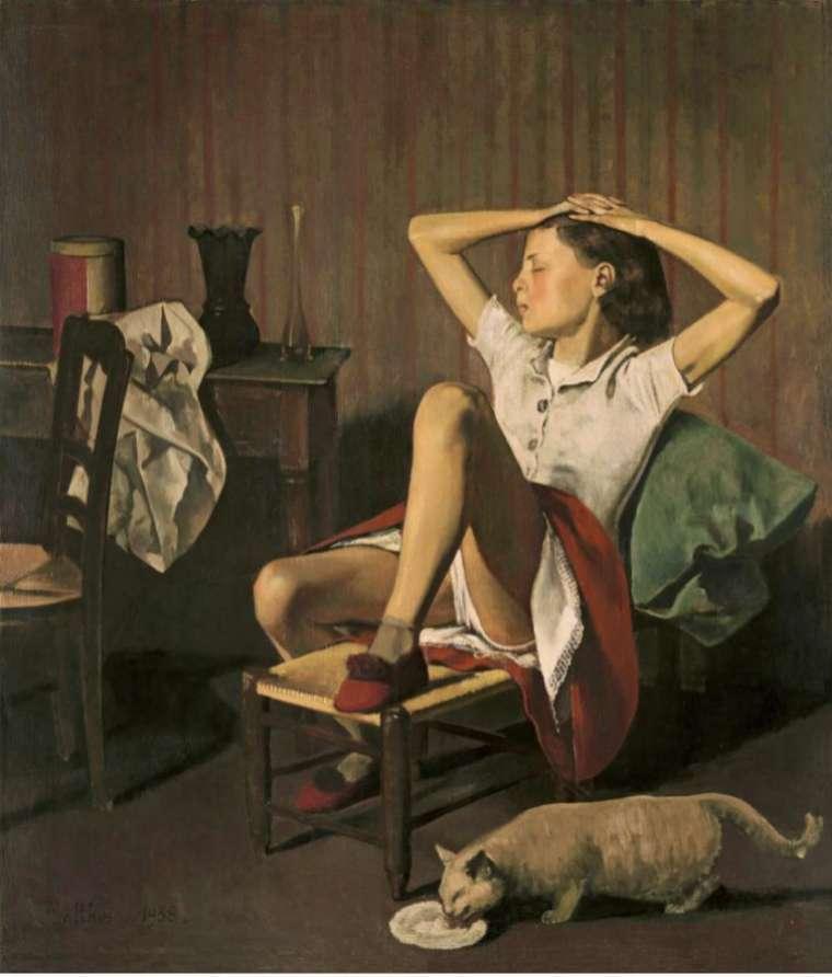 La tensa inocencia de las 'lolitas', según Balthus