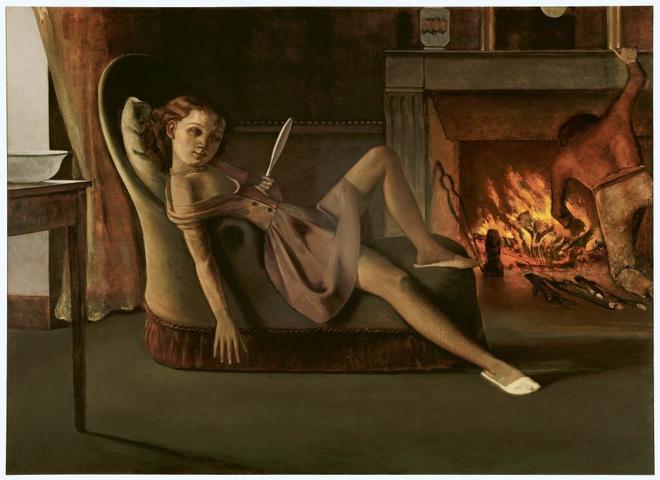 'Los buenos tiempo' (1946), una de las polémicas obras de Balthus.