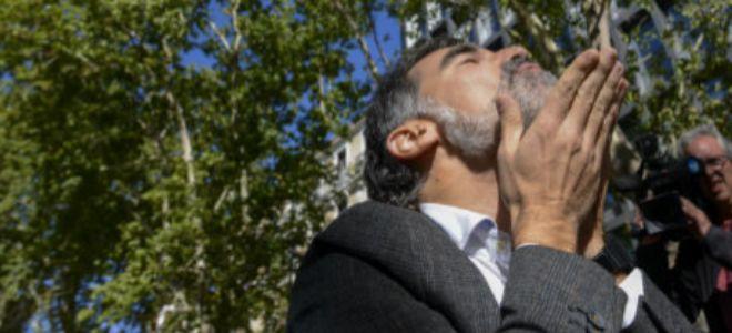 Jordi Cuixart se convirtió en prisión