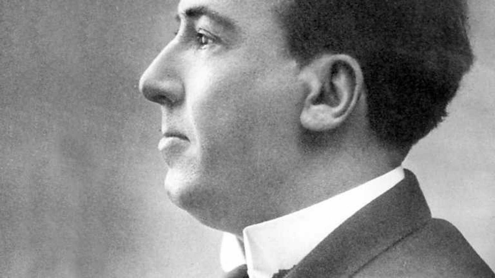 Retrato del poeta Antonio Machado.