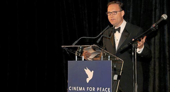 Jaka Bizilj, director de la fundación Cinema for Peace.