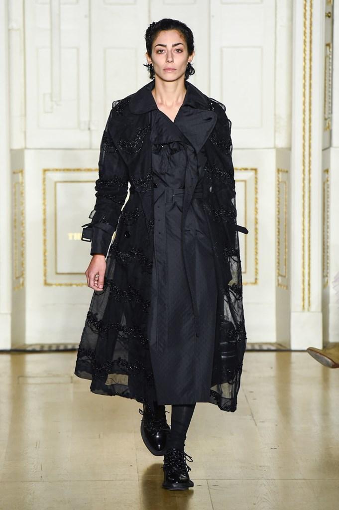 Desfile de Simone Rocha · Semana de la Moda de Londres · Colección otoño-invierno 2019/20