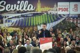 El presidente del Gobierno, Pedro Sánchez, ayer durante un acto...
