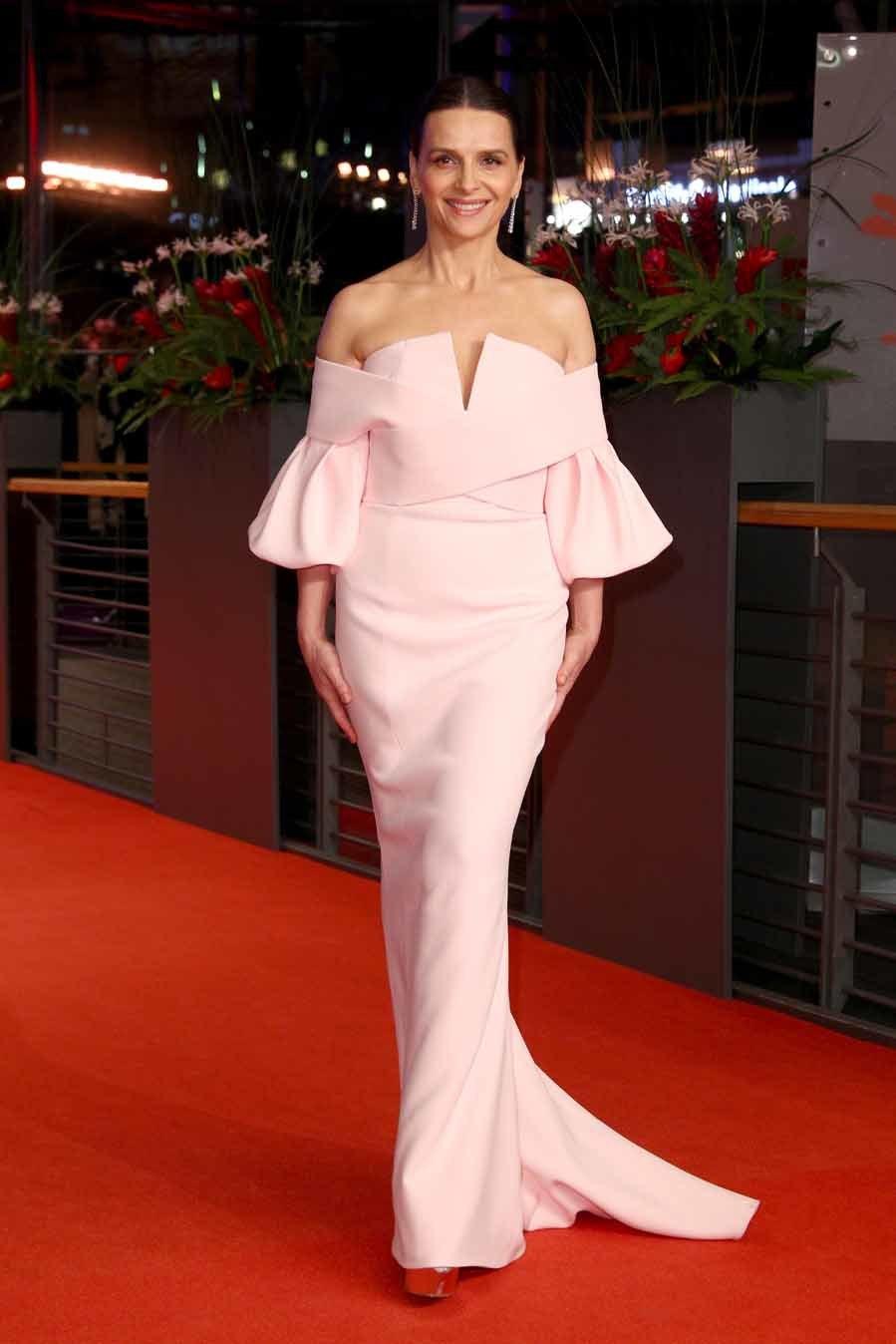 Juliette Binoche con vestido de Balmain - Clausura de la Berlinale 2019