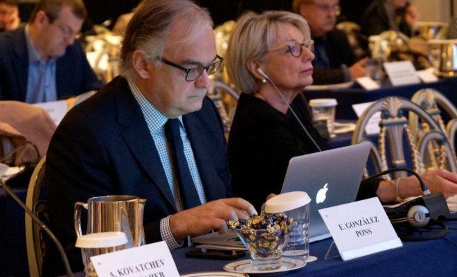 Esteban González Pons, vicepresidente primero del Grupo PPE y portavoz de la delegación española del PP en el Parlamento Europeo.