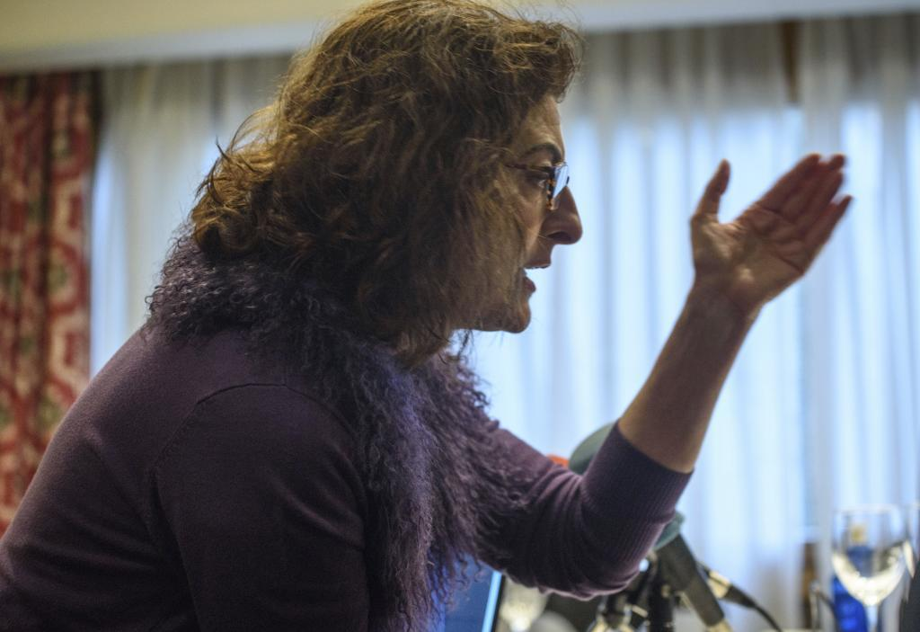 Maite Pagazaurtundua, eurodiputada de UPyD.