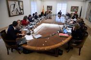 Reunión del Consejo de Ministros extraordinario del pasado viernes.