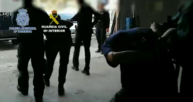 Operación del pasado mes de octubre contra uno de los mayores grupos de narcotráfico de  la Costa del Sol.