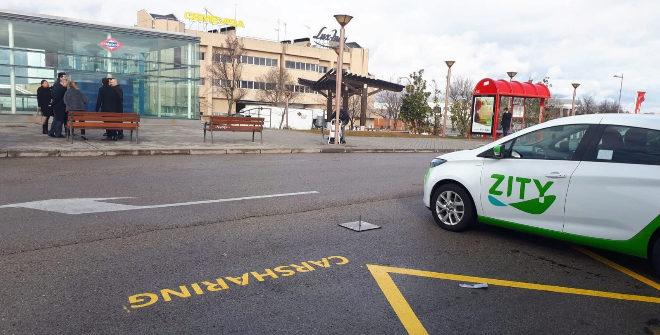 El 'carsharing' de Zity prosigue su expansión: después de Alcobendas desembarca en Pozuelo