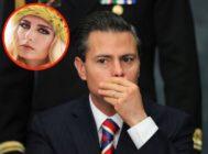 El ex presidente Peña Nieto y Tania Ruiz Eichelmann.