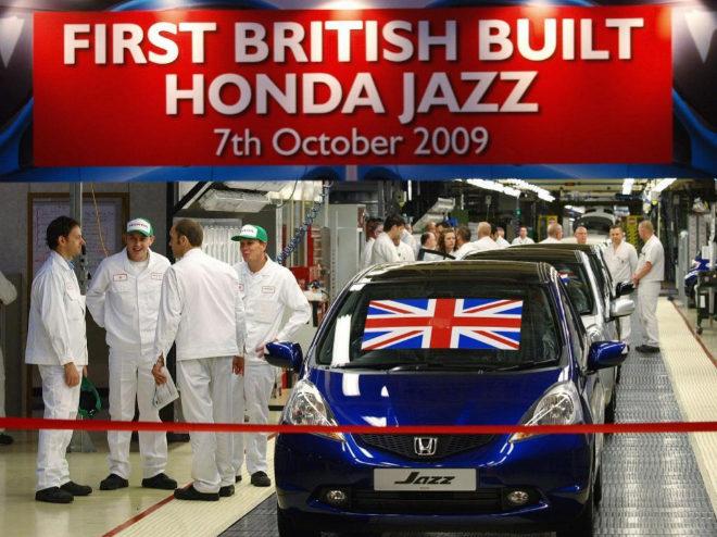 Los trabajadores de la planta británica de Honda Swidon
