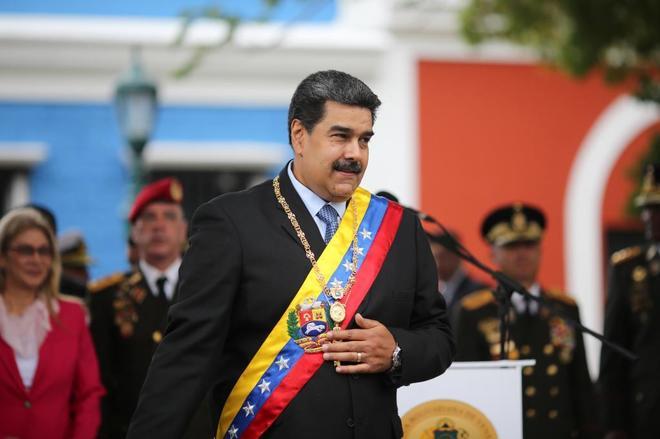 El jefe de Estado venezolano, Nicolás Maduro.