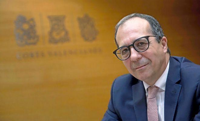El presidente del Consell Rector de la Corporación, Enrique Soriano.