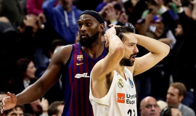 Sergio Llull ante Chris Singleton, durante la final de la Copa del Rey de baloncesto.