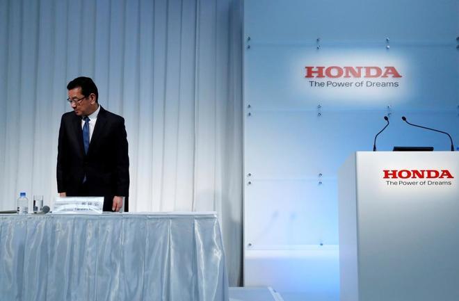 El ejecutivo jefe de Honda, Takahiro Hachigo
