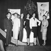 Lagerfeld compartió, con tan solo 21 años, escenario en los...