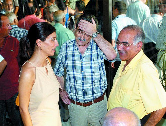 Mónica Lorente y José Manuel medina en una imagen de archivo.