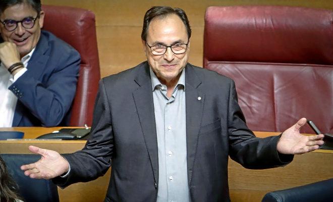 El conseller de Hacienda y Modelo Económico, Vicent Soler.