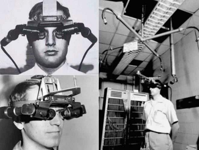 La Espada de Damocles, el primer casco de lo que hoy llamamos realidad virtual.