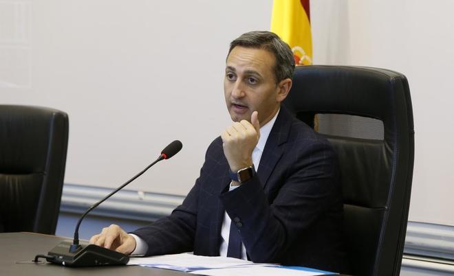 El presidente de la Diputación, César Sánchez
