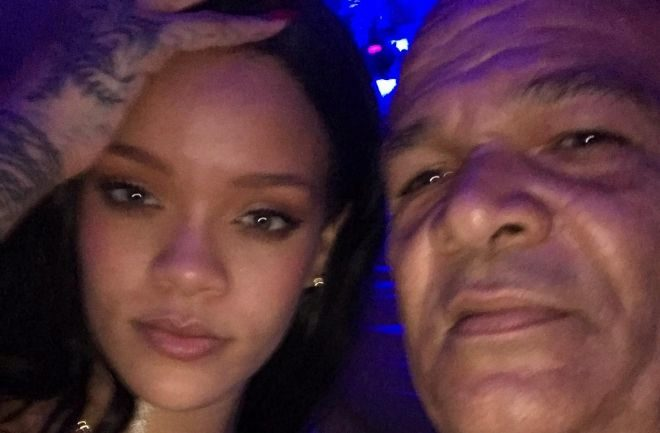 Rihanna y su padre