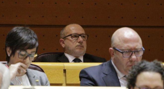 Vox no vota nada en el Senado: ni contra los indultos ni contra la cesión de las prisiones al País Vasco