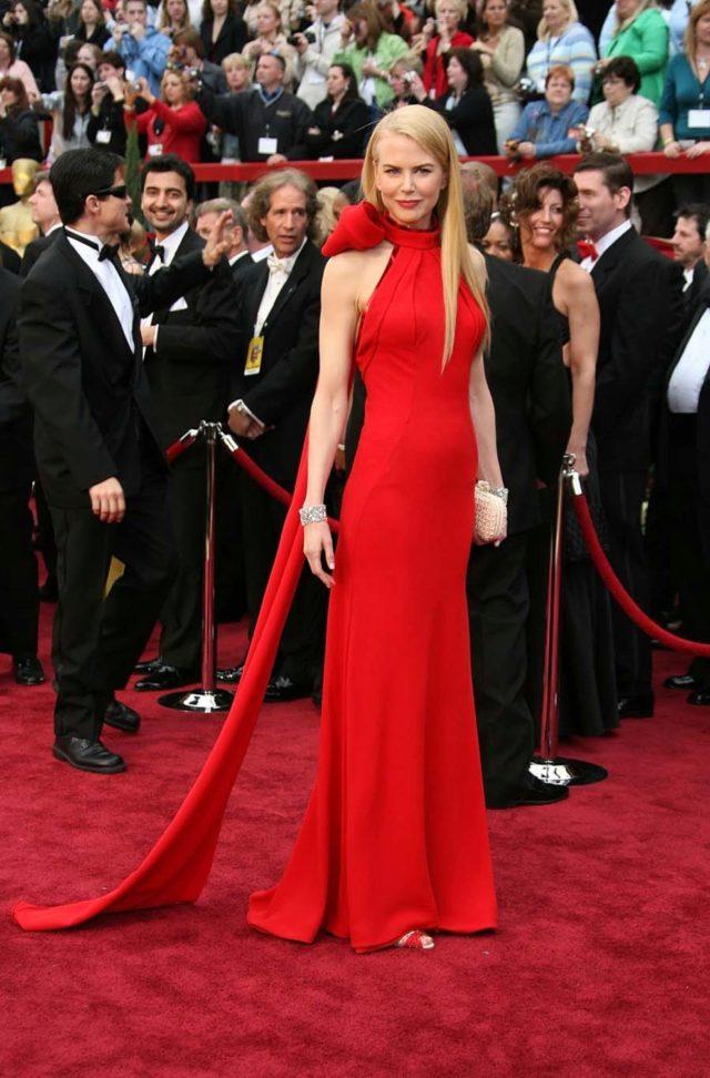 Resultado de imagen de Nicole Kidman en los premios Oscar 2007
