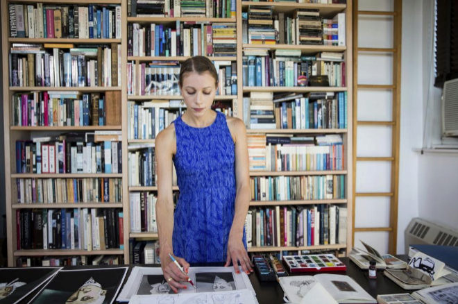 La autora, Lauren Redniss.
