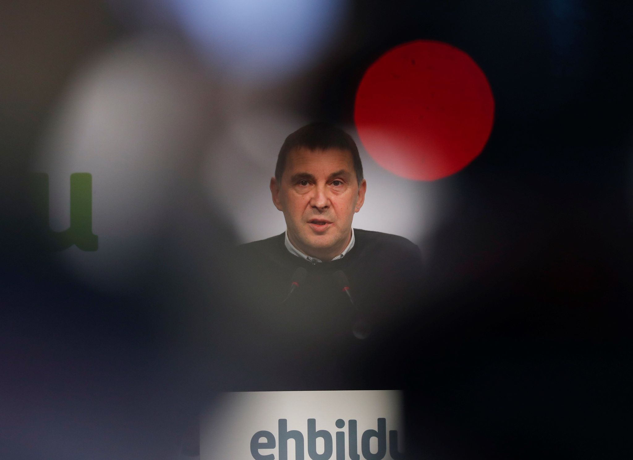 El coordinador general de EH Bilbao, Arnaldo Otegi.