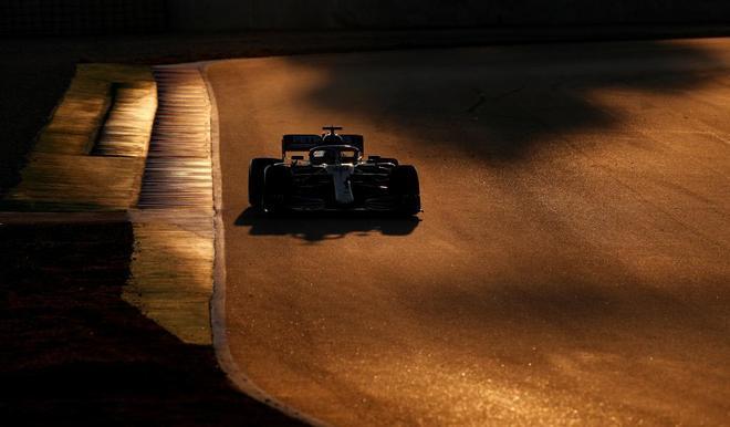 Lewis Hamilton, durante los entrenamientos de este miércoles.