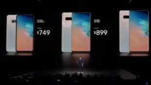 Esto cuestan los Galaxy S10 en España