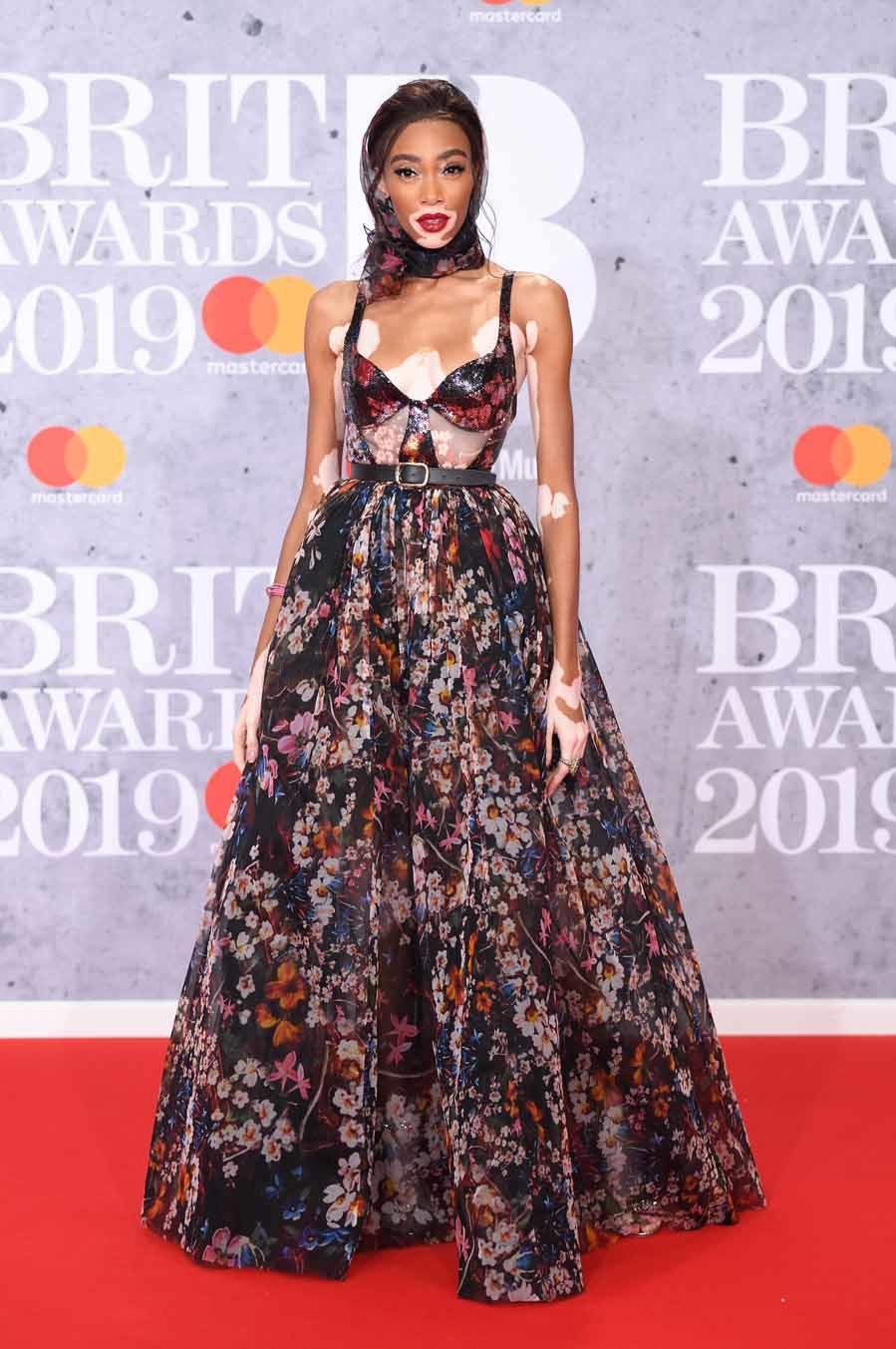 Winnie Harlow - BRIT Awards 2019