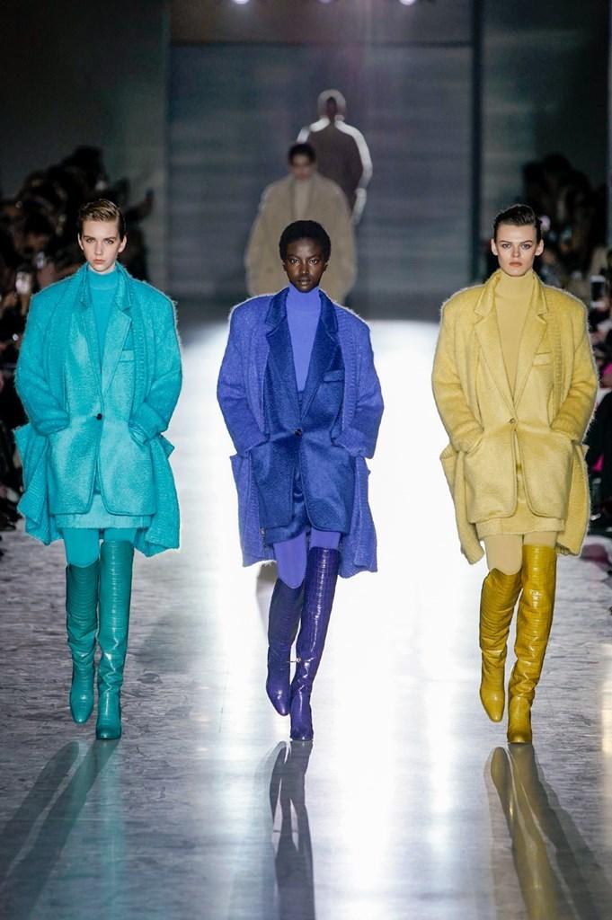 Desfile de Max Mara· Semana de la Moda de Milán · Colección otoño-invierno 2019/20