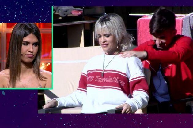 Sofía reacciona al tonteo entre Ylenia y Alejandro