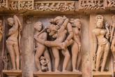 En los <strong>22 templos</strong> que aún quedan en pie en Khajuraho...