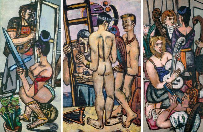 Max Beckmann y el exilio del arte moderno