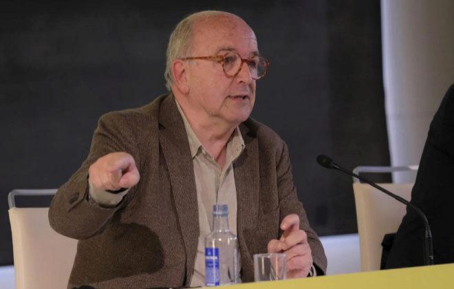El ex ministro y ex vicepresidente de la CE Joaquín Almunia, en una imagen de archivo.