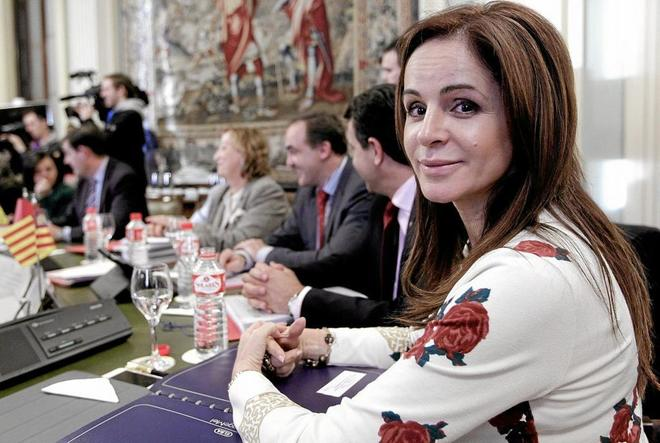Silvia Clemente, en un acto público en su etapa de consejera de Agricultura.