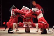 Imagen de una actuación de 'breakdance'.