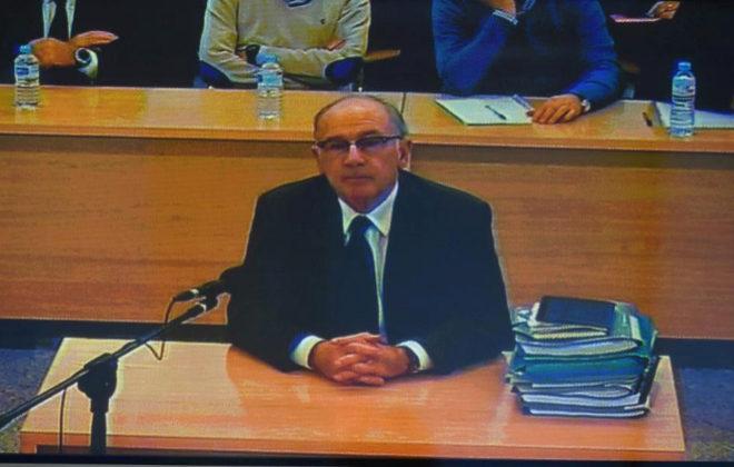 Rodrigo Rato, durante el juicio por la salida a Bolsa de Bankia.