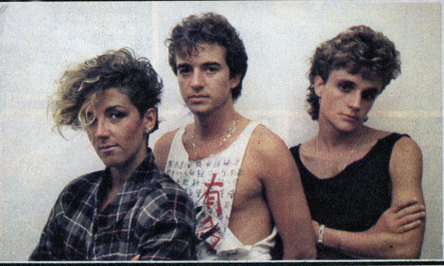 Ana, José María y Nacho Cano, Mecano, en los años 80.