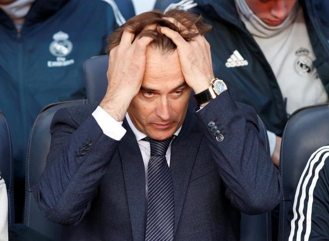 Lopetegui, en su etapa en el Real Madrid.