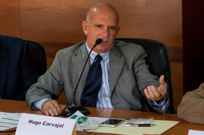 Fotografía de archivo, del 27 de enero del 2016, del ex jefe militar Hugo Carvajal.