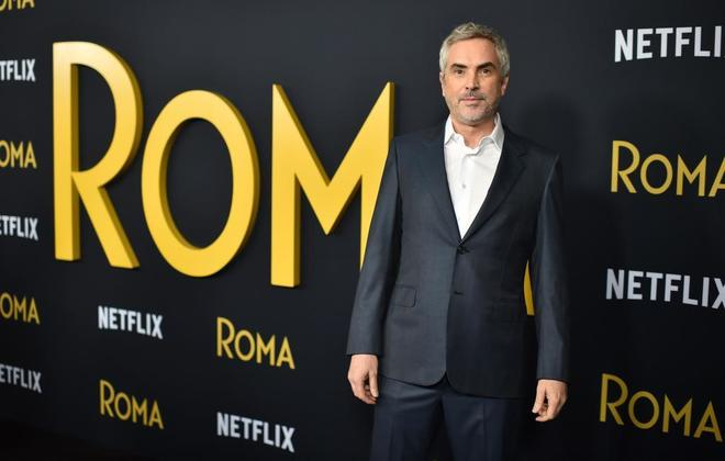 Alfonso Cuarón en la presentación de 'Roma' en Los Ángeles.