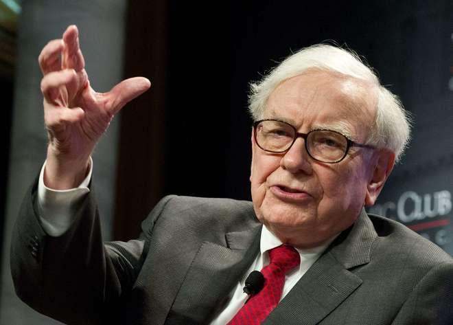 El financiero Warren Buffett,