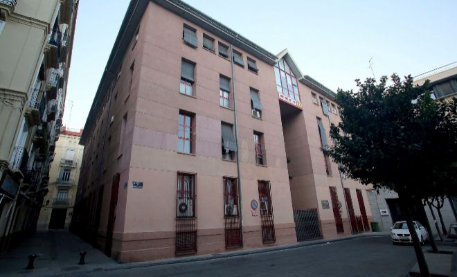 El edificio de CCOO en la plaza de Nápoles y Sicilia de Valencia.