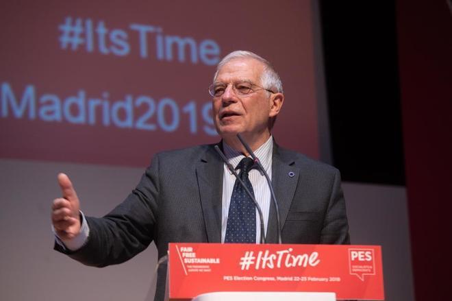 El ministro de Exteriores, Josep <HIT>Borrell</HIT>